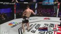 MMA : il fait unHadouken comme dans Street Fighter pendant son combat WTF ?!