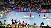 Coup de canon du milieu de terrain de Dusko Celica à la dernière minute (handball)