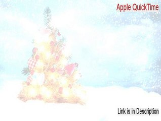 Apple QuickTime Resource | Learn About, Share and Discuss