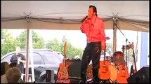 Kim Kredel sings the Elvis song Viva Las Vegas at Elvis Week 2012