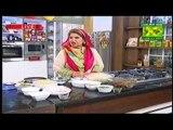 Masala Morning Shireen Anwar - Daal Gosht , Butter Papper Seekh Kabab , Gougeres Recipe on Masala Tv -12th February 2015