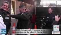 "AGDE - 2015 - SEBASTIEN DENAJA :  ""Le meilleur ami de la Police Municipale , c'est la police nationale """