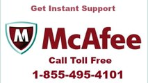 McAfee Antivirus Customer Support Number 1-855-495-4101/Mcafee Antivirus not working/Mcafee help