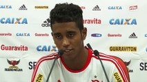 Gabriel revela 'fome' de gols com a camisa do Fla