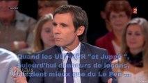 Quand les UDF - RPR et Juppé, aujourd'hui donneurs de leçons, faisaient mieux que du Le Pen - Mars 1990