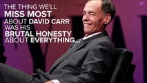 What We'll Miss Most About David Carr