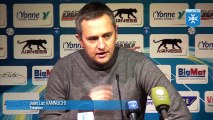 Conférence de presse AJ Auxerre - Troyes