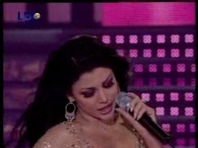Haifa Wehbi lek el wawa Live Star Academy