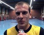Mickael Merlen Handball Grande Synthe Michael Merlen Frédéric canonne , Arnaud straseele mickael Sophys