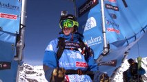 Run of Drew Tabke (USA) - Swatch Freeride World Tour 2015 in Vallnord Arcalis (AND) By The North Face