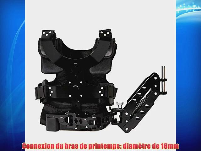 CamSmart Vest Set Steadycam Vest Set gilet   bras pour Cam?scope DSLR Rig vid?o (Vest I)