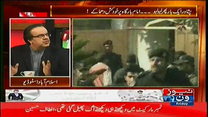 Shahid Masood Praises Pakhtons in a Live Show
