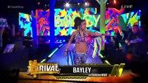 Sasha Banks vs. Bayley vs. Becky Lynch vs. Charlotte, Fatal 4-way, NXT Women's Title, WWE NXT, 02-12-15