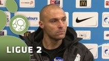 Conférence de presse Tours FC - AC Arles Avignon (2-2) : Gilbert  ZOONEKYND (TOURS) - Victor ZVUNKA (ACA) - 2014/2015