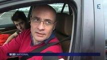 Record de voitures dans les Alpes sur la route des vacances