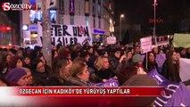Özgecan için Kadıköy'de yürüyüş