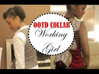Working Girl / Tenue de travail | Collab avec Mymou