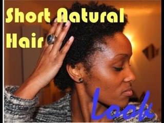Short Natural Hair Look