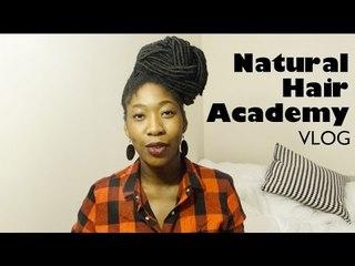 Natural hair Academy 2015 I Vlog