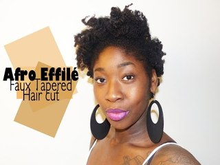Afro Effilé I Tutoriel Coiffure