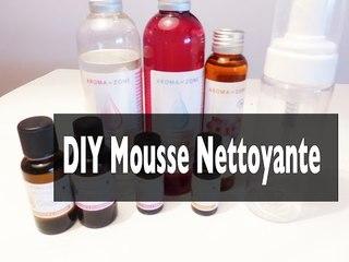 DIY Mousse nettoyante I Soin du visage
