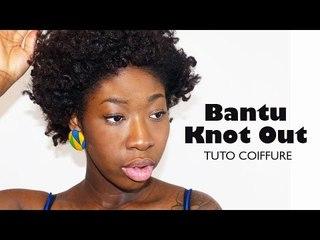 Comment faire un bantu knot out ? I Tuto Coiffure