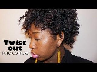 Comment réaliser un twist out sur cheveux crépus  I Tuto Coiffure