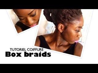 Box braids - Chignon de tresses | Tuto coiffure