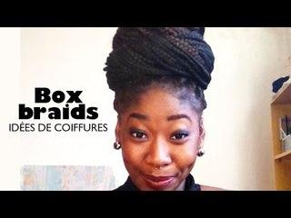 Box Braids - Chignon de tresses #1 | Idées de coiffures