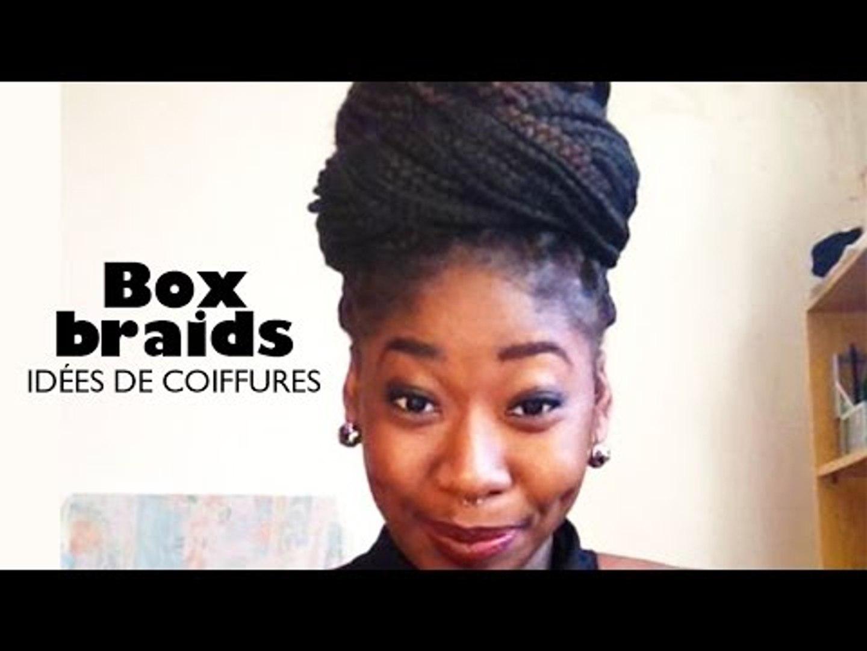 Box Braids Chignon De Tresses 1 Idees De Coiffures Video Dailymotion