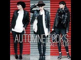 AUTOMNE LOOKS // 1 jacket, 1 slim