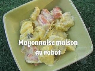 Recette Mayonnaise maison au robot