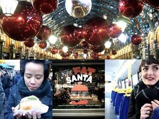 #VlogMas 2 // Christmas Markets (Covent Garden, Borough Market)