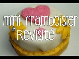 Recette des mini framboisier revisité | Cake Design (Défi !)