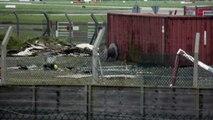 American Airlines Boeing 767-323_ER (W) Take Off départ de l'aéroport international de Dublin en Irlande