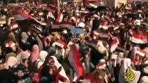 الجزيرة الوثائقية   سلسلة يوميات الثورة المصرية -19/20- اليوم التاسع عشر - 11 فبراير 2011