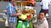 Stret Foods Street Food in the RICHEST AREA of SAIGON, VIETNAM TODAY