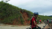 Mtb, 40 km, 34 bikers, Trilha da Cachoeira do Triângulo, Pinheirinho, Pedal com os Amigos, Taubike, Taubaté, SP, Brasil, 14 de fevereiro de 2015, (29)