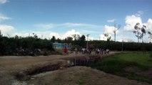 Mtb, 40 km, 34 bikers, Trilha da Cachoeira do Triângulo, Pinheirinho, Pedal com os Amigos, Taubike, Taubaté, SP, Brasil, 14 de fevereiro de 2015, (40)
