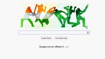 2015 Cricket World Cup Google doodle portrays India vs Pakistan high-octane clash!