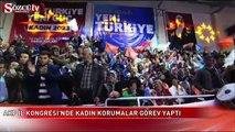 AKP İl Kadın Kongresi'nde kadın korumalar görev yaptı