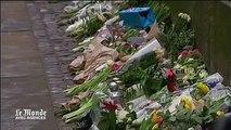 A Copenhague, les Danois déposent des fleurs devant la synagogue visée