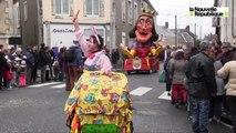 VIDEO. Le carnaval bat son plein à Oucques (41)