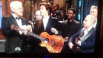 Paul McCartney and Paul Simon sing on SNL's 40th anniversary