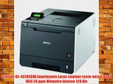 Brother HL-4570CDW Imprimante Laser couleur recto-verso laser Wifi 28 ppm M?moire Interne 128