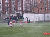 2014 U19 J17 PARIS FC REIMS 1-1, le 15/02/2015