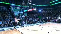 Voici le gagnant du concours de DUNK NBA avec un dunk de folie !!!