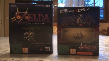 The Legend of Zelda - Majora's Mask 3D : New 3DS XL Collector + Special Edition (Video Unboxing)