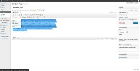 PrivateContent (5) - Users private page