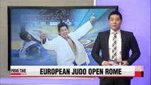Kim Jae-bum, Kim Soo-whan win bronzes at European Judo Open Rome